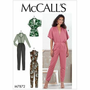 McCalls pattern M7872