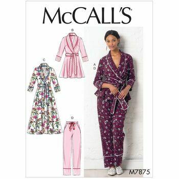 McCalls pattern M7875