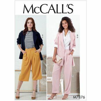 McCalls pattern M7876