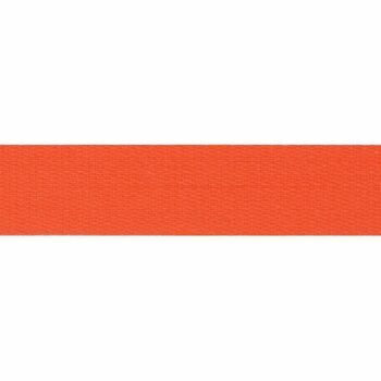 Premium Quality Cotton Tape 14mm: Orange: Per metre