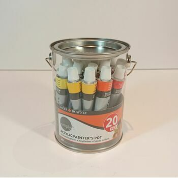 Daler Rowney Simply Acrylic Painters Pot