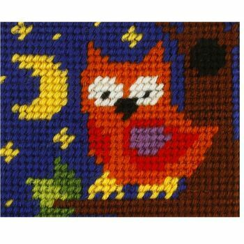 Orchidea My First Embroidery Needlepoint Kit - Owl