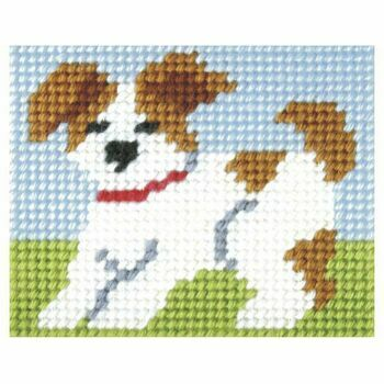 Orchidea My First Embroidery Needlepoint Kit - Puppy