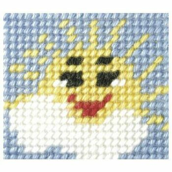 Orchidea My First Embroidery Needlepoint Kit - Sunny Day