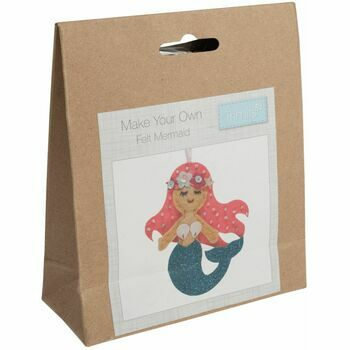 Trimits Make Your Own Felt Mermaid