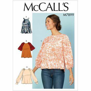 McCalls pattern M7899