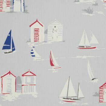 Studio G Vintage Classics Beach Huts Grey