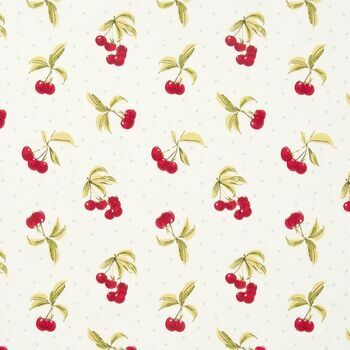 Clarke & Clarke Studio G Cherries Chintz