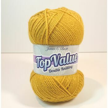 Top Value Yarn - Old Gold - 8467 (100g)
