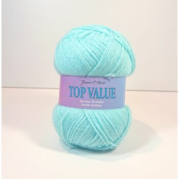 Top Value Yarn - Aqua Blue - 8460 (100g)