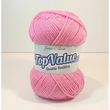 Top Value Yarn - Bubblegum Pink - 8463 (100g)