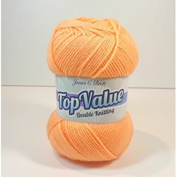 Top Value Yarn - Orange Sorbet - 8466 (100g)