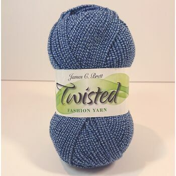Twisted Yarn - Jeans Blue - T3 (100g)