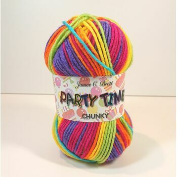 James C Brett Party Time Chunky - PT1 (100g)