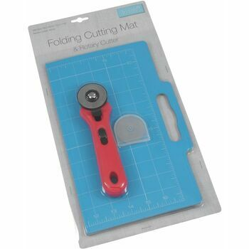 Trimits Folding Cutting Mat & Rotary Cutter