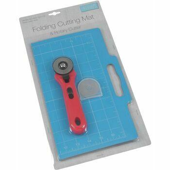 Trimits Folding Cutting Mat & Rotary Cutter