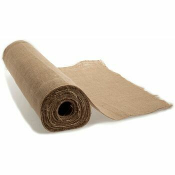 Trim Rustic Hessian - Natural - 50cm (per metre)