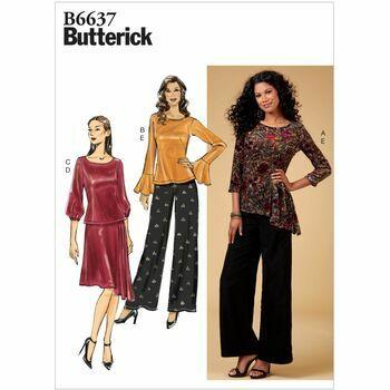 Butterick pattern B6637