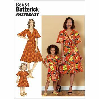 Butterick pattern B6654