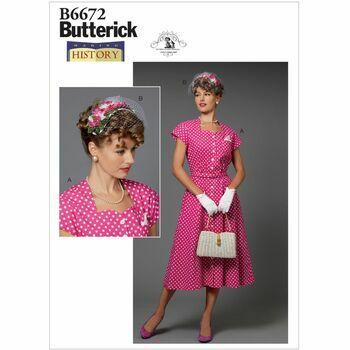 Butterick pattern B6672