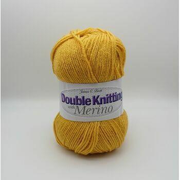 James C Brett DK with Merino Yarn - Mustard - DM35 (100g)