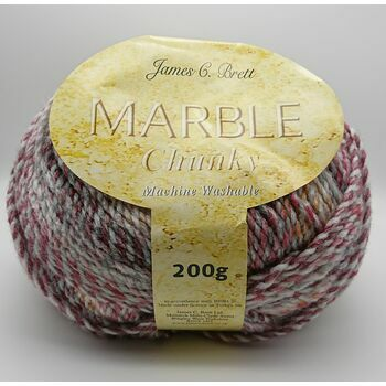 James C Brett Marble Chunky Yarn - MC86 - 200g