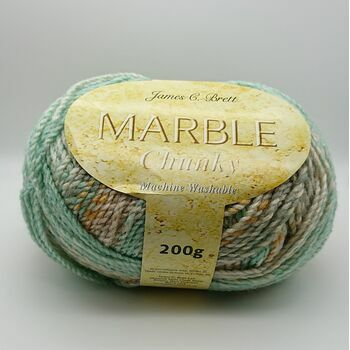 James C Brett Marble Chunky Yarn - MC85 - 200g