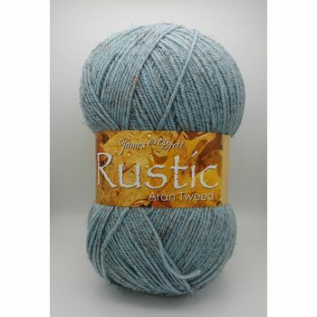 James C Brett Rustic Aran Tweed Yarn - DAT41 (400g)