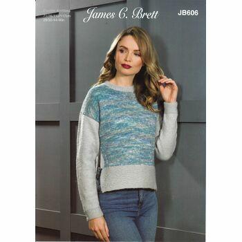 Brett Pattern DK Sweater JB606