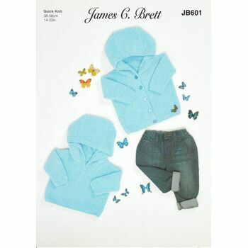 Brett Pattern Baby Quick Knit JB601