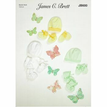 Brett Pattern Baby Accessories JB600 Quick Knit