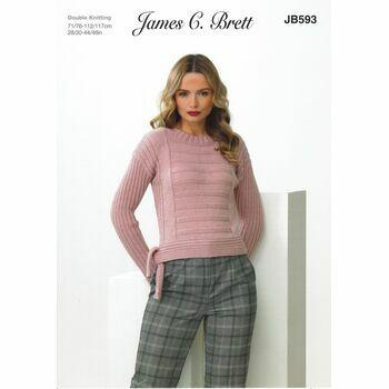 Brett Pattern Sweater DK JB593