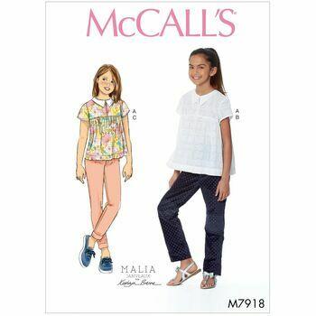 McCalls pattern M7918