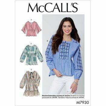 McCalls pattern M7930