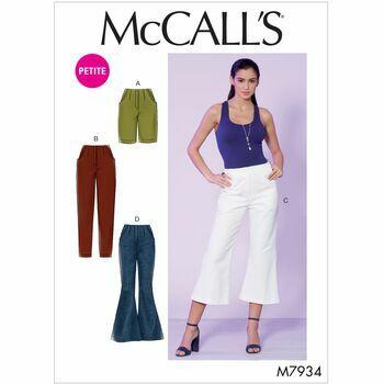 McCalls pattern M7934