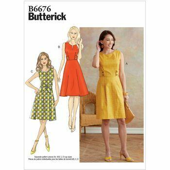 Butterick pattern B6676