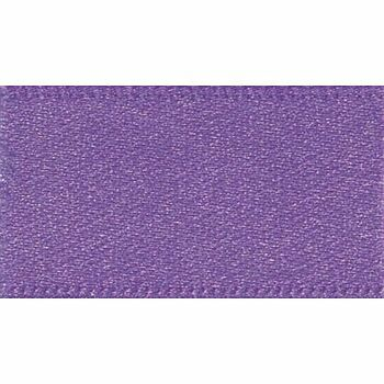 Berisfords: Double Faced Satin Ribbon: 25mm: Purple