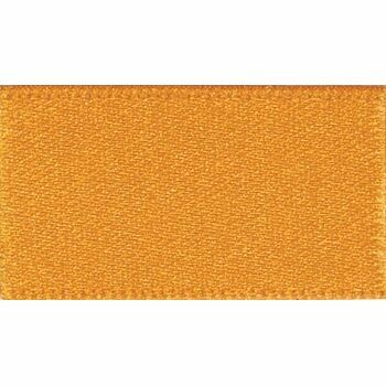 Berisfords: Double Faced Satin Ribbon: 25mm: Marigold