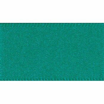 Berisfords: Double Faced Satin Ribbon: 15mm: Jade