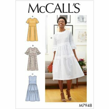 McCalls Pattern M7948 Misses' Dresses