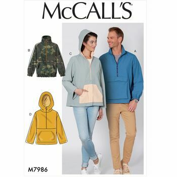 McCalls pattern M7986