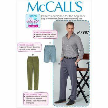McCalls pattern M7987