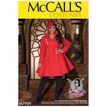 McCalls pattern M7989