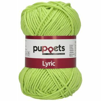 Puppets: Lyric No. 8: 50g (70m): Light Green