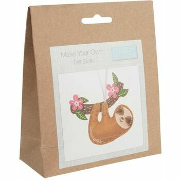 Trimits Make Your Own Felt Decoration Kit - Sloth