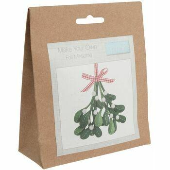 Trimits Felt Decoration Kit - Mistletoe