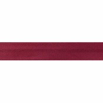 Essential Trimmings Satin Bias Binding - 15mm (Burgundy) - Per Metre