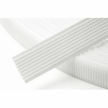 Hemline Uncovered Polyester Boning (12mm) - White