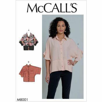 McCalls pattern M8001