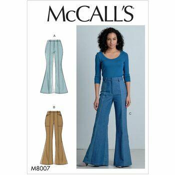 McCalls pattern M8007